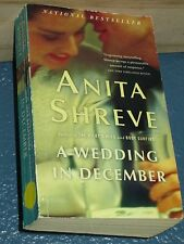 A Wedding in December by Anita Shreve FREE SHIPPING 0316001635
