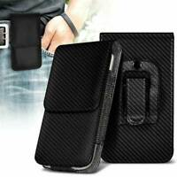 Belt Clip Pouch Holster Vertical Magnetic Phone Case Cover Holder For Samsung UK