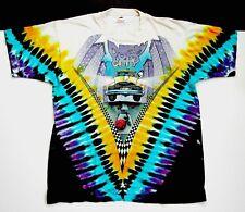 Grateful Dead Shirt T Shirt Vintage 1990 New York City MSG Taxi Tie Dye NY GDM L