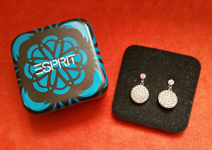 Esprit Damen Ohrringe Silber