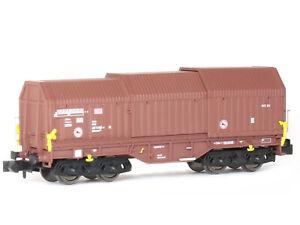 MU N-G30026 - Güterwagen Teleskophaubenwagen Shimmns 708 DB Ep.V - Spur N - NEU