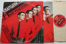 KRAFTWERK The man-machine CANADA ORIG 1978 ELECTRO CAPITOL SW-11728 LP Inner slv