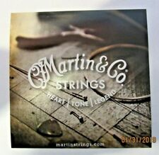 Martin Guitar Strings Decal Sticker Case Rack Bumper Sticker Nice New Rare