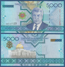 TURKMENISTAN 5000 Manat 2005 UNC  P. 21