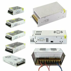 AC 110-220V To DC 5V 12V 24V 36V 48V LED Strip Light Driver Power Supply Adapter