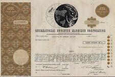 International Business Machine Corp. Ibm stock certificate to Swiss bank 1 share