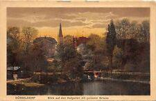 BR41715 Blick auf den Hofgarten mit goldener Brucke Dusseldorf      Germany
