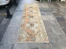 10X3 Long Runner Rug,Antique Rug,Nomadic Rugs,Turkish Area Carpet,Runner Rugs