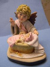 Anri Toriart Hand Painted Blessing Angel New Baby Girl by Charlotte Hallett Nib