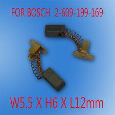 Carbon Brushes For Bosch 2609199169 GDS GDR 18 14.4 V-LI battery impact Drill OZ