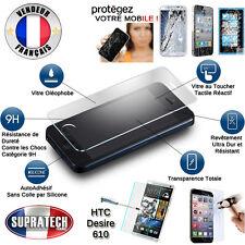 Protection d'Ecran en Verre Trempé Contre les Chocs pour HTC Desire 610