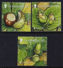 2011 GUERNSEY EUROPA: FORESTS SET OF 3 FINE MINT MNH/MUH