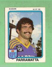 Parramatta Eels 1981 Season NRL & Rugby League Trading Cards