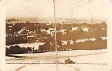 Prairie du Sac Wisconsin birds eye view of area real photo pc Y13404