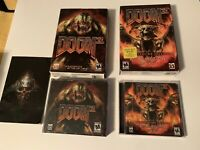 Lot Of 2 Doom 3 PC Games with Keys and Boxes Expansion Pack