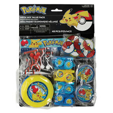 POKEMON Sun and Moon FAVOR PACK (48pc) ~ Birthday Party Supplies Toys Gifts Loot