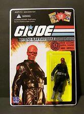 "Custom GI Joe figure and package of ""Techno Battlefront""  RED SKULL   hail hydra"