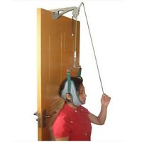 Over The Door Cervical Neck Traction Unit Kit Home Head