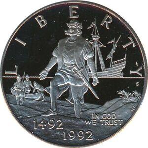 USA Half Dollar 1992 S PP 500 Jahre Landung von Kolumbus in Amerika*