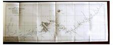 1888 Needham - BRAHMAPUTRA - ASSAM - TIBET - Color Map - Wrappers