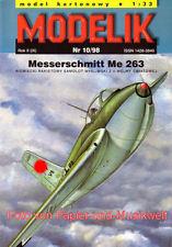 Modelik 10/98 - Messerschmitt Me 263 (Ju 248 VI) - 1:33