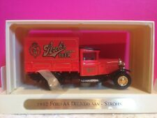 MATCHBOX MODELS OF YESTERYEAR FORD AA DELIVERY VAN STROHS 1/43 NEUF BOITE W1