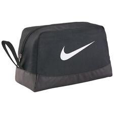 Nike Club Borsa da viaggio Swoosh Team Palestra Sport Viaggio Cosmetici Nero