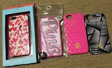 LOT/4 IPHONE 6 6S 7 8 PHONE CASES KATE SPADE PINK DABNE LEE