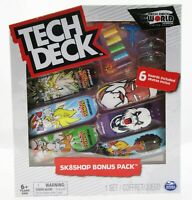 Tech Deck ~ World Edition Limited Series ~ Sonic ~Finesse ~ Skateboard ~ 6 pack