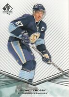 2011-12 SP Authentic Hockey #30 Sidney Crosby Pittsburgh Penguins