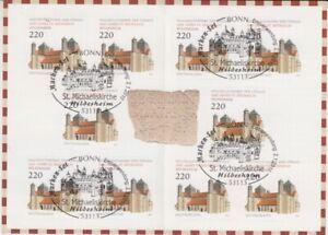 Bund  Markenheftchen  MH 82  mit 10 x 2779  Michaeliskirche Hildesheim  oo
