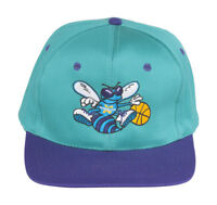 New Orleans Vintage Hornets Cotton NBA Snapback Hat Cap - 2 Tone