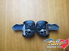 14-2020 Chrysler Dodge Jeep Hellcat Steering Wheel Paddle Shifter Set Mopar OEM
