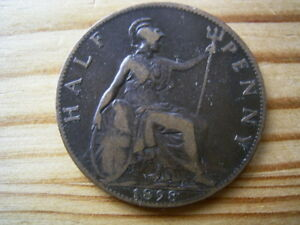 Half Penny GB Great Britain Halfpenny Halfpennies Variants.