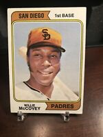 1974 Topps Willie McCovey San Diego Padres #250A Baseball Card