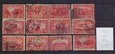!  United States 1912.  Parcel Post Stamp. YT#CP1/12 .€165.00 !