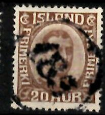 Iceland Number cancel #185 used in Dalsmynni