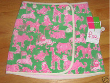 NWT Lilly Pulitzer Girl's Reversible Haddie Skirt 10 M $78