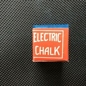 Rare Vintage Electric Pool Billiard Chalk ~ NOS