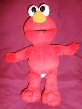 Sesame Street Elmo 2002 Mattel Fisher Price stuffed plush toy red monster doll
