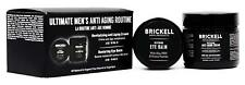 Brickell Men's Ultimate Anti-Aging Routine - Anti-Wrinkle Night Face Cream and E