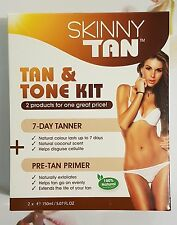 Skinny Tan, Tan & Tone Kit, 7 Day Tanner & Pre-Tan Primer RRP $54.99