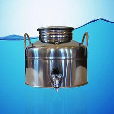 SUPERFUSTINOX STAINLESS STEEL WATER DISPENSER FUSTI 5 LITER + GIFT **