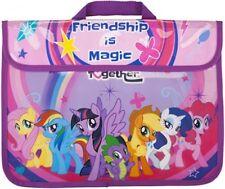 Niños Childrens Mi Pequeño Pony School Book Bolsa Bolsa de viaje de regreso a la escuela