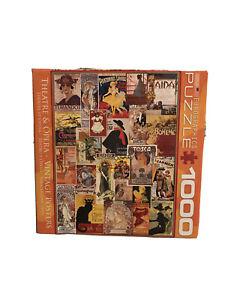 Eurographics Puzzle Theatre & Opera Vintage Posters 1000 Piece 8000-0935