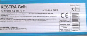Kestra Gelb Blau Braun KBSE  2,5und 3,2x350mm im Paket Stabelektroden Schweissen