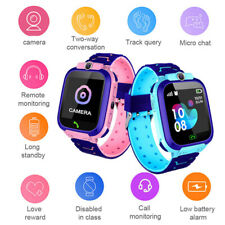 Kids Smart Watch Anti-lost GPS Fitness Tracker SOS SIM Call Camera - IOS Android