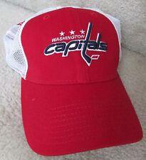 NHL Washington Capitals New Era 39Thirty Baseball Cap Hat Med Large a858ed3c5f53