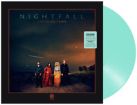 Little Big Town Nightfall Exclusive Limited Edition Sea Glass Color 2x Vinyl LP