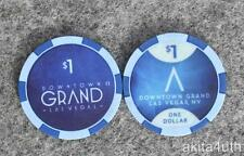 $1 Downtown Grand Casino - Las Vegas NV House Chip - Formerly Lady Luck
